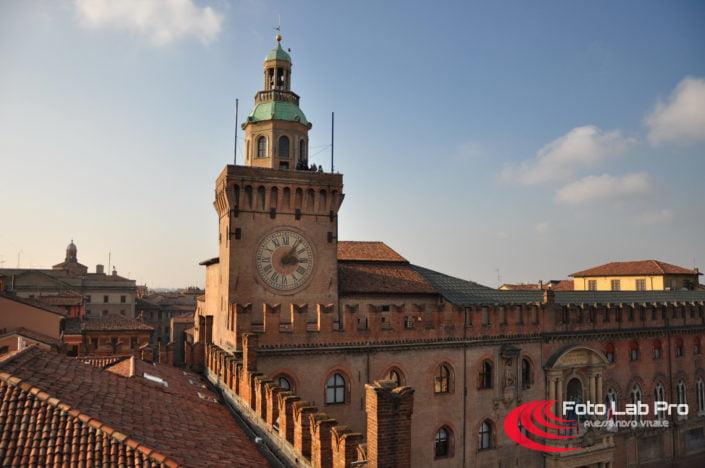 Piazza Maggiore dalla Basilica Maggiore