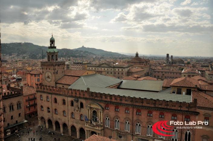 Orologio Piazza Maggiore dalla Torre dell'Arengo