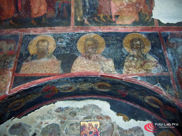 Affreschi chiesa di Bojana