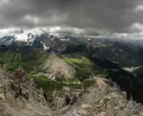 Fotografia naturalistica panoramica